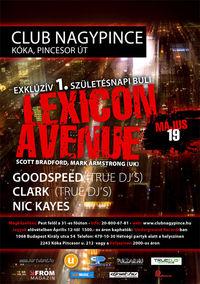 Lexicon Avenue@Club Nagypince