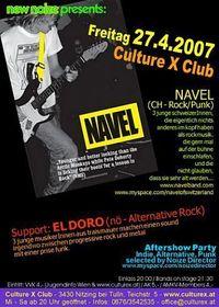 New Noize presents Navel & El Doro@Culture X Club