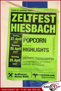 Zeltfest der FF Hiesbach@Zeltfest