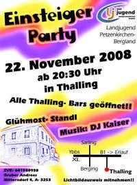 Einsteiger Party@Thaling