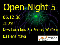 Open Night 5@Six Pence