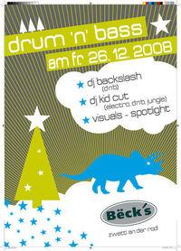 Drum & Bass X-Mas Special@Becks Bar