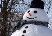 ✽✽✽  Der Schnee kann kommen ➜ wir wollen Schneemann bauen! ☃☃☃