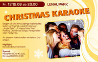 Christmas Karaoke@Orange Cube Lenaupark