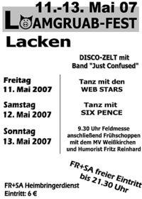 Loamgruamfest 2007@Lacken