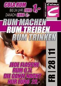 Rum Machen  Rum Treiben  Rum Trinken@Cabana