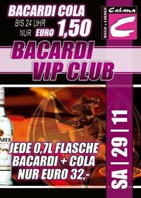 Bacardi Vip Club@Cabana
