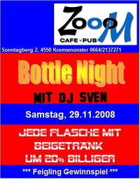 Zoom Bottle Night@Cafe Pub Zooom