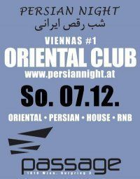 Persian Night - Viennas #1 Oriental Club@Babenberger Passage