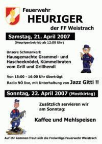 Feuerwehrheuriger@Weistrach City