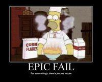 """""""epic fail"""" sollte eine gültige Prüfungsantwort werden!"""