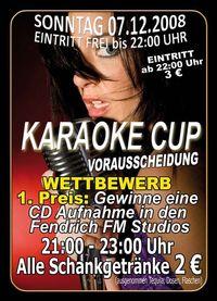 Karaoke Cup - Vorausscheidung