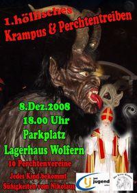 1 höllisches Krampus & Perchten Spektakel @Parkplatz Lagerhaus