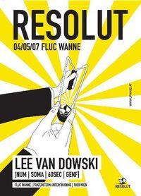 Resolut with Lee van Dowski