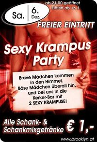 Sexy Krampus Party@Brooklyn