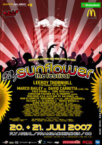 Big Sunflower Festival - 3 Years@Fly Areal