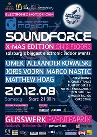 SoundForce X-Mas Edition