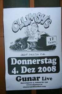 17 Jahre Clumsy's - The Great English Pub@Clumsys English Pub