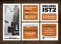 Nolabel ist 2 - FM5-Relaunch Party@Replugged