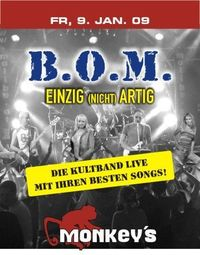 B.O.M Live on stage@Monkey Dancing