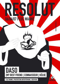 Resolut with Daso@Fluc / Fluc Wanne
