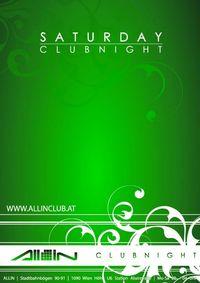 Saturday Clubnight@All iN
