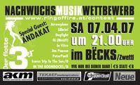 Musik Nachwuchs Wettbewerb@Becks Bar