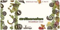 Antimonoton BreakBeat Club@Kulturverein Böllerbau