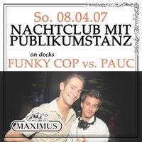 nachtclub mit publikumstanz@Maximus