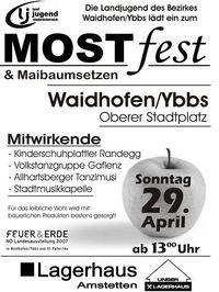 Mostfest Waidhofen/Ybbs@Oberer Stadtplatz