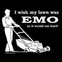 Gruppenavatar von I wish my lawn was EMO so it would cut itself
