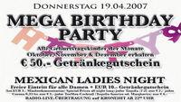 Mega Birthday Party@A-Danceclub