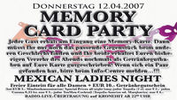 Memory Card Party@A-Danceclub