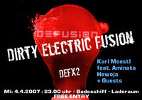 Dirty Electric Fusion@Badeschiff