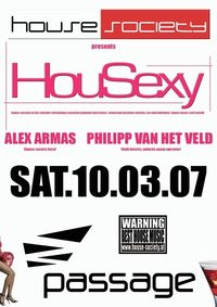 HouseSociety presents HouSexy@Babenberger Passage