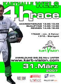 kart.Vision 4h-Race Wels@Karthalle Wels