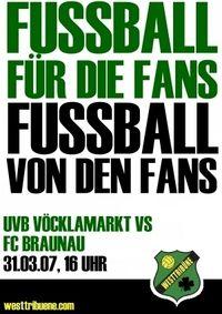 UVB Vöcklamarkt - FC Braunau@Sportzentrum