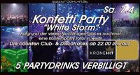 "Konfetti Party ""White Storm""@Brooklyn"