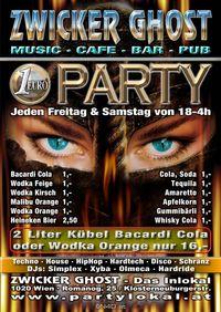 1,- Euro Party@Zwicker Ghost Club