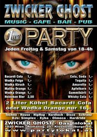 1,- Euro Party@Zwicker Ghost Club