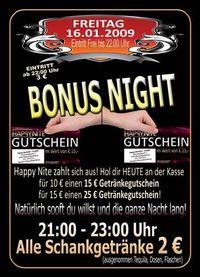 Bonus Night