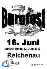 Burgfest Reichenau 07@Burgruine
