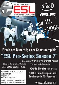 ESL Pro Series Season 7@Gasometer - planet.tt