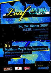 LeafClub@JazzIt. Musik Club
