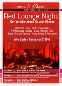Red Lounge Party@Vulcano