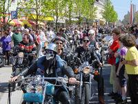 Harley Davidson & Chopper Benefizevent@Stadtplatz Bad Hall