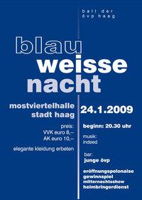 Blau Weisse Nacht@Mostviertelhalle Haag