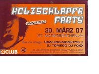 Holzschlapfa Party@Stockschützenhalle