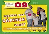 Substral Gärtner Party