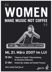 Women make Music not Coffee@LUI / Campus JKU